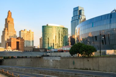 Kansas City Missouri Skyline without Trademarks