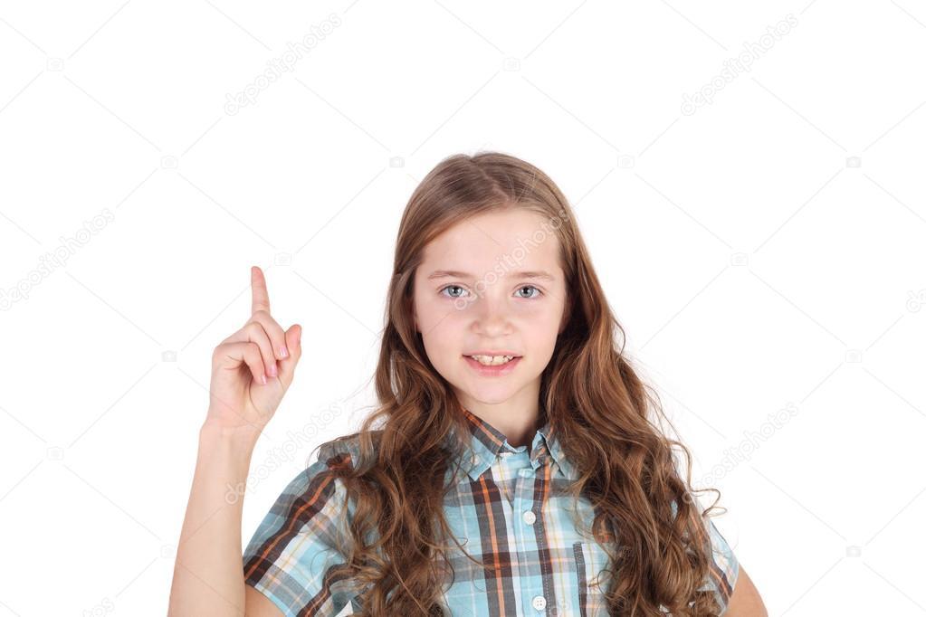 Schattig klein meisje u2014 stockfoto © lanych #106581226