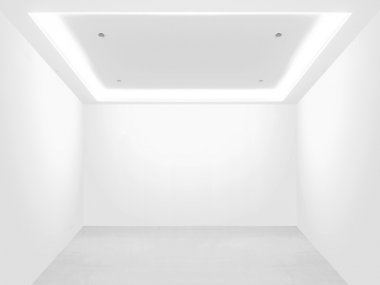 Bright empty room