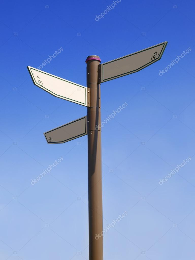 blank direction signpost stock photo marchcattle 66835561