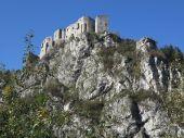 Rovine del Castello di Strecno, Slovacchia