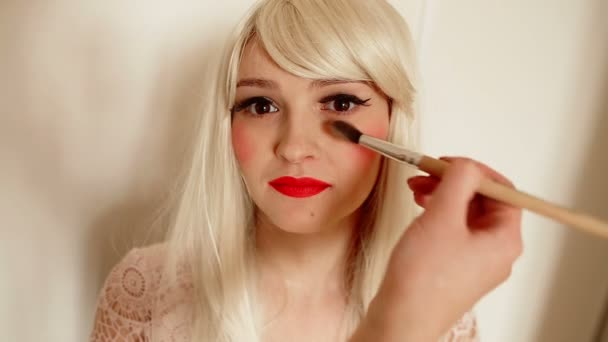 Make-up, použití zvýrazňovače