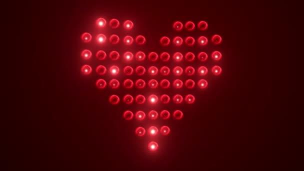 srdce z žárovky