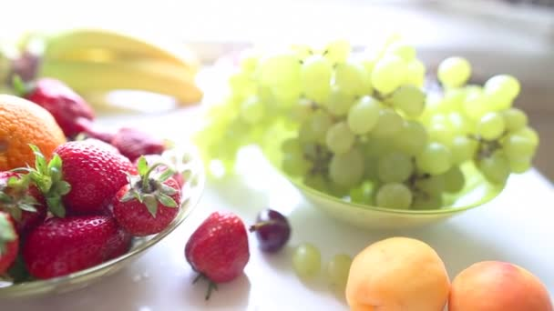 different Summer fruits on a table
