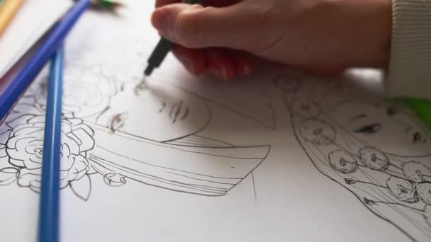 rajz folyamat, közeli