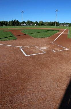 Vertical Baseball Field
