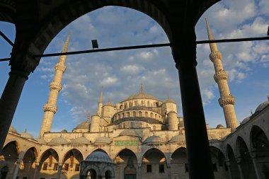 Framed Blue Mosque
