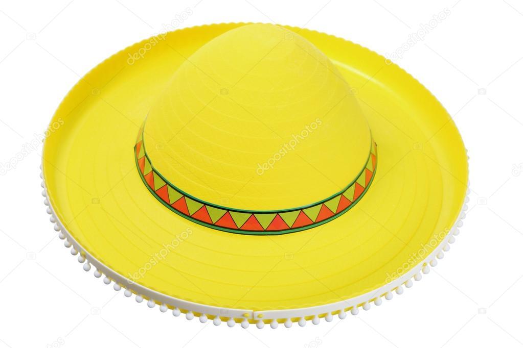 Sombrero Sombrero amarillo — Fotos de Stock © newlight  96994158 1e00a8f9293