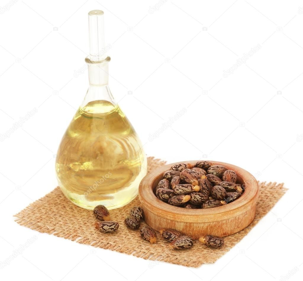 Castor oil with beans
