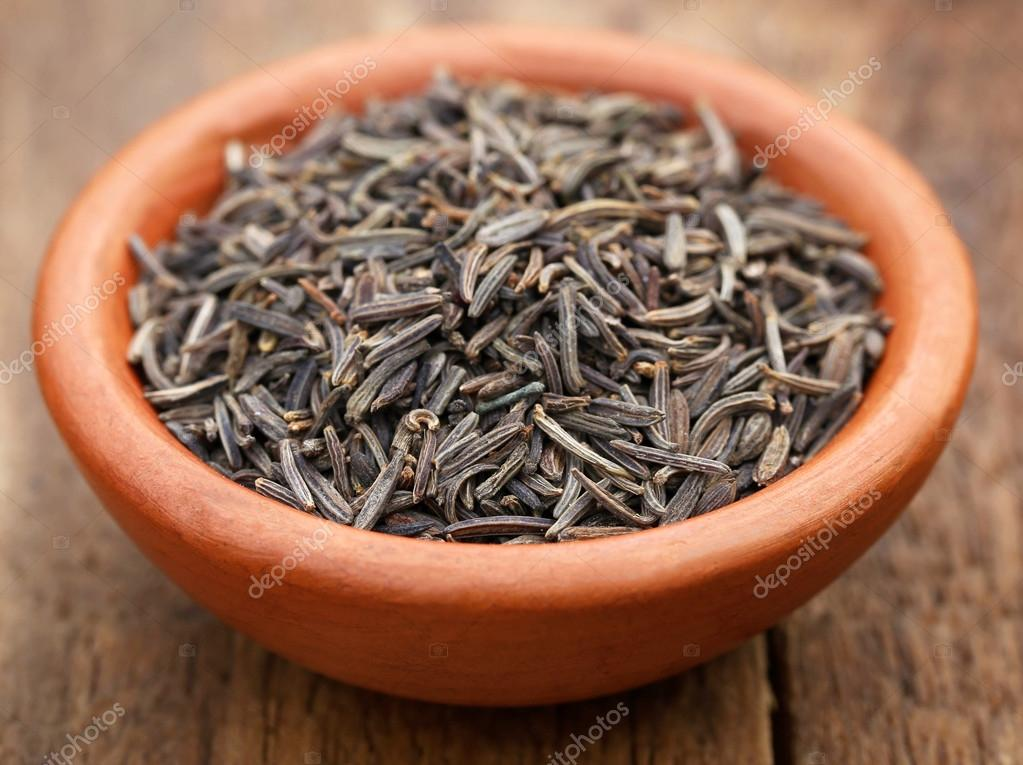 Close up of Caraway seeds — Stock Photo © bdspn74 #105407914