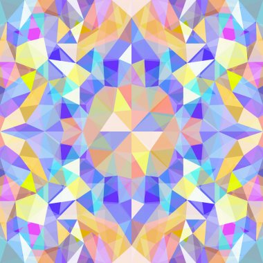 Background of colored polygons