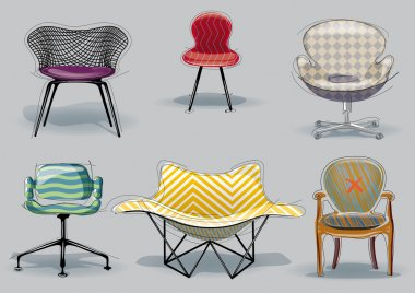 Chair set.