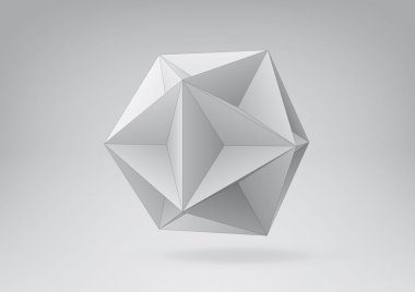 Great dodecahedron for your graphic design.