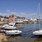 Порт Port-Louis Бретани во Франции Лицензионные Стоковые &#x