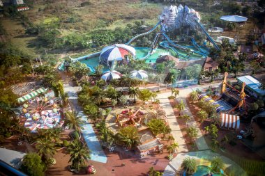 BANGKOK, THAILAND, 2013 MARCH 30 Siam park city with attraction.