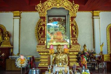 Mummified monk body on Koh Samui Thailand
