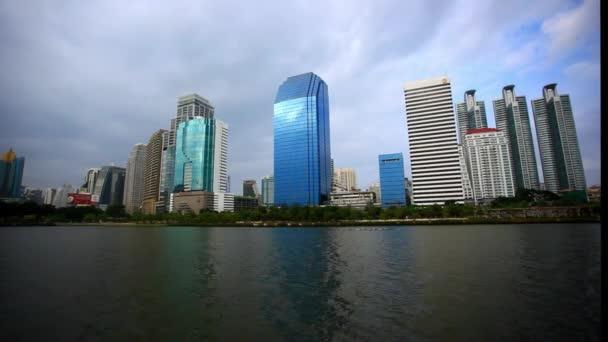 landscape of building business  office. HD. 1920x1080