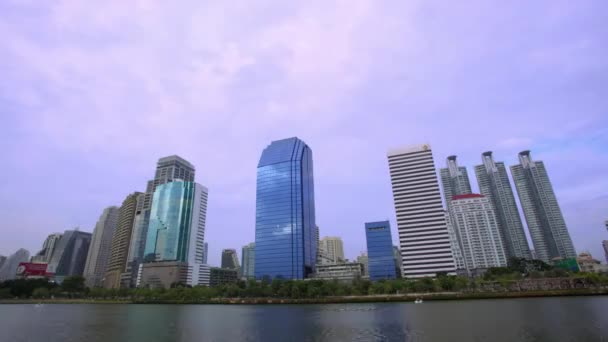 Timelapse landscape of building business office. Speed up HD. 1920x1080
