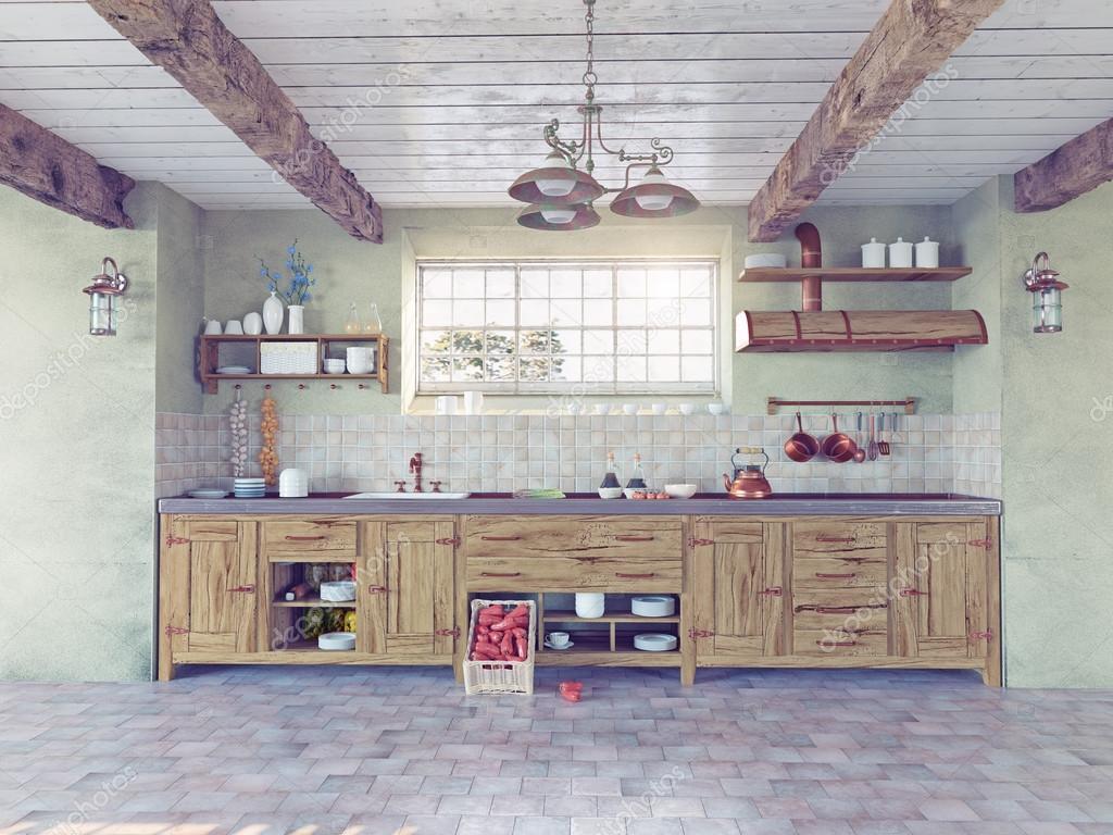 Interieur De Cuisine Ancienne Photographie Vicnt2815 C 56530665