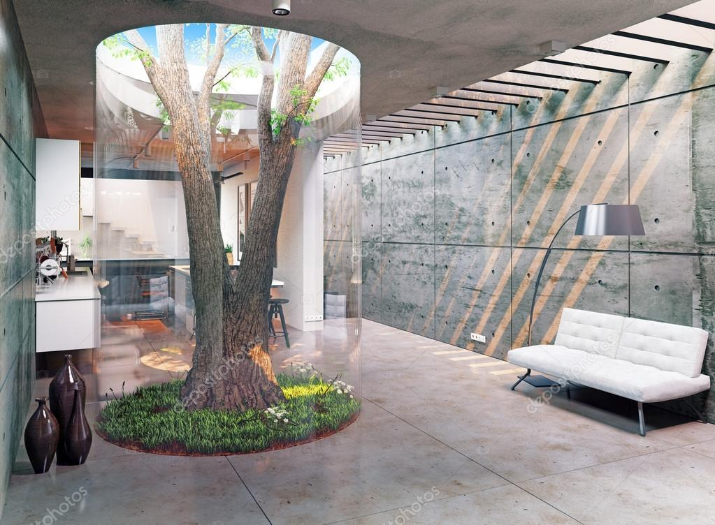 Modernes Haus-Interieur — Stockfoto © vicnt2815 #94565716