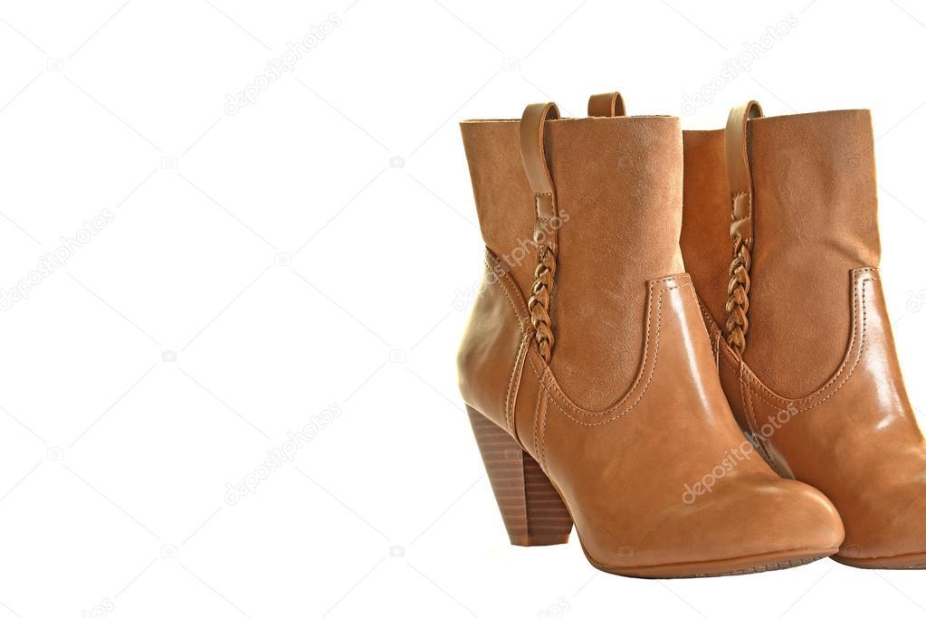 Modische Damen Stiefel — Stockfoto © EyeMark  123432366 af75dfa9a8