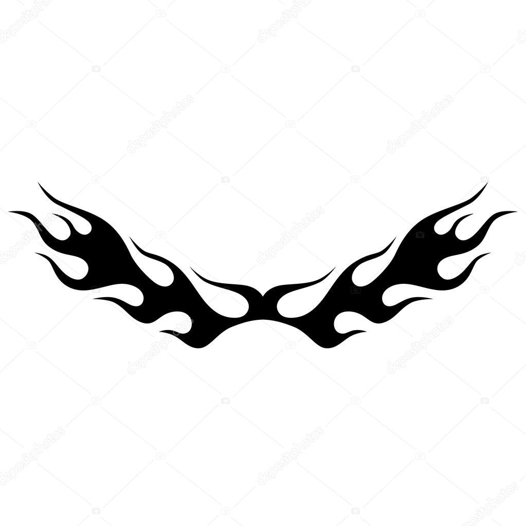 Tattoo design  Stencil  Pattern  — Stock Vector © 1rudvi #121054280