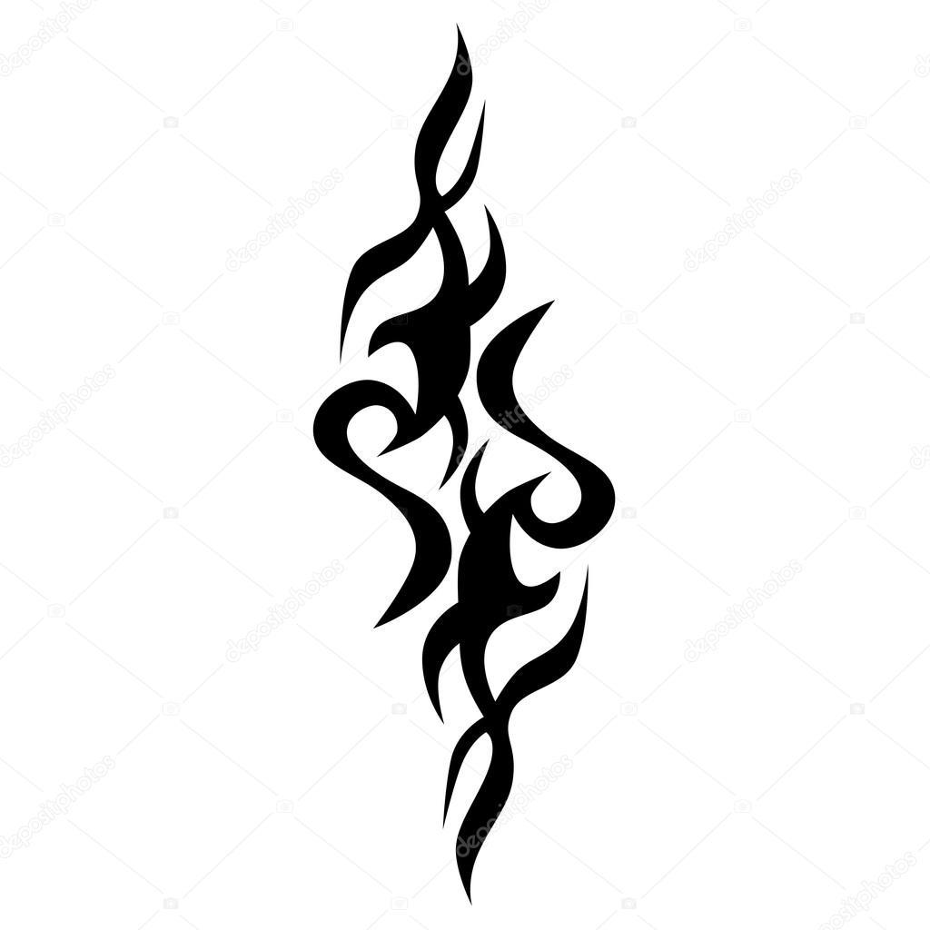tattoo muster entwerfen verzierung schablone stockvektor 1rudvi 99983212. Black Bedroom Furniture Sets. Home Design Ideas