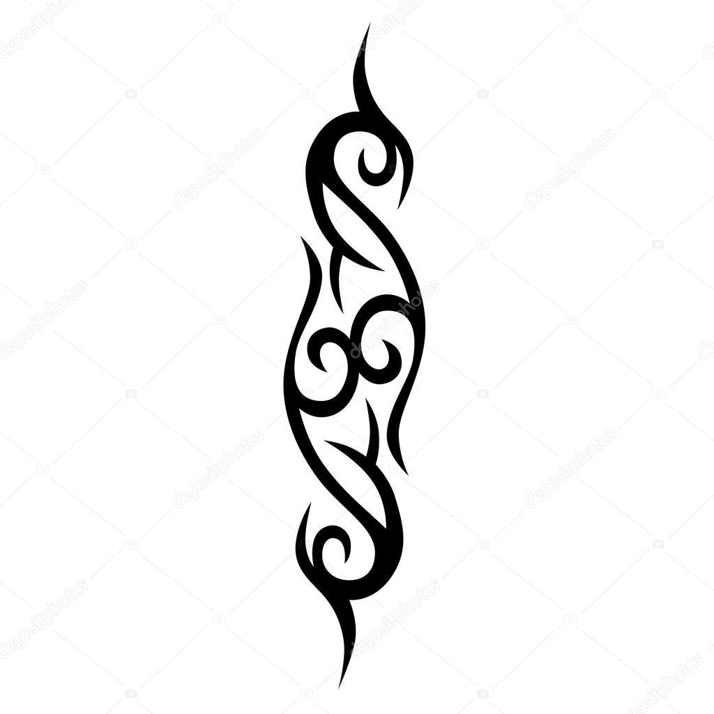 tattoo muster entwerfen verzierung schablone stockvektor 1rudvi 99983232. Black Bedroom Furniture Sets. Home Design Ideas