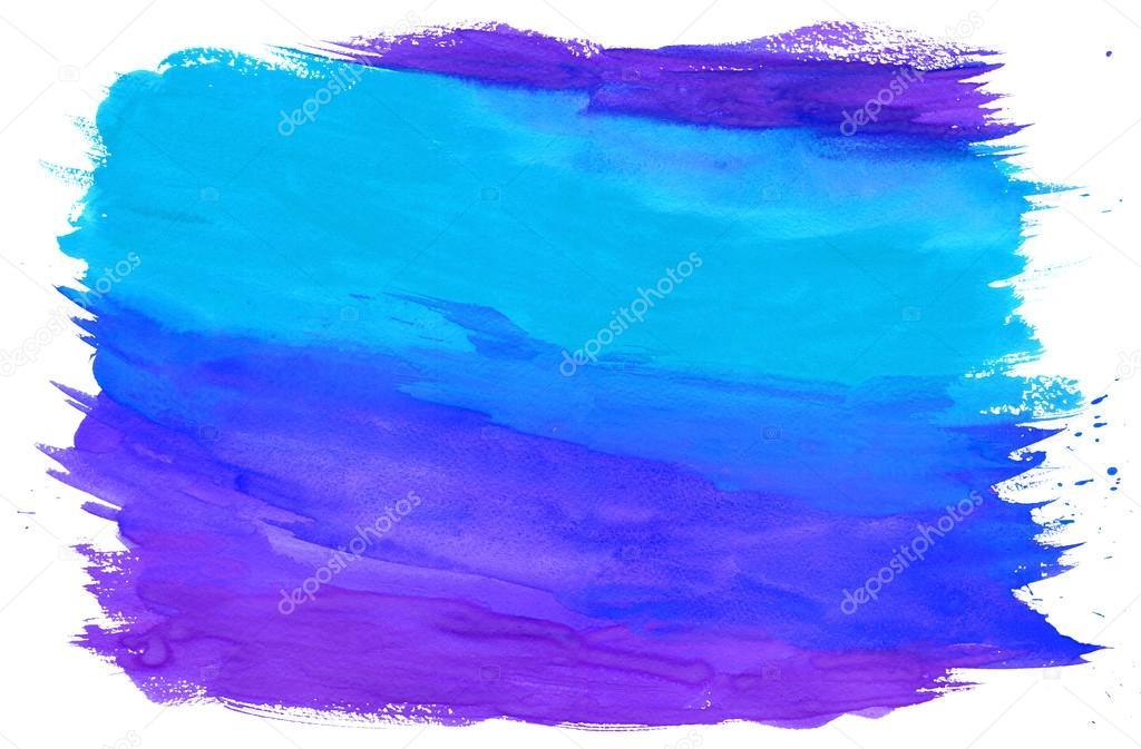 Pintura Con Textura De Fondo Azul Y Morado