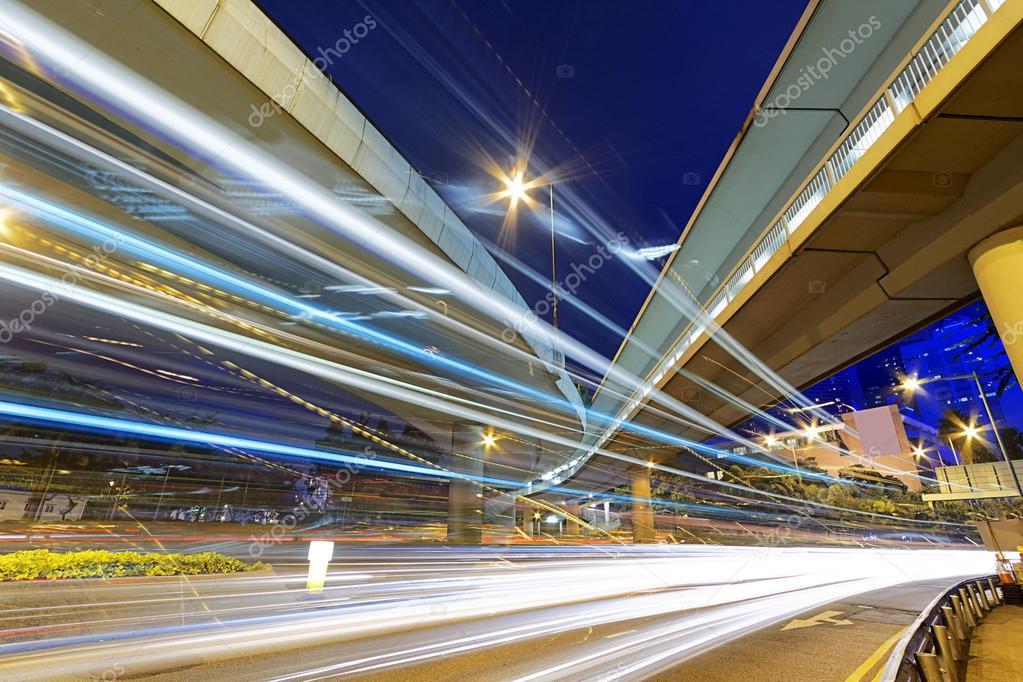 Фотообои busy traffic night