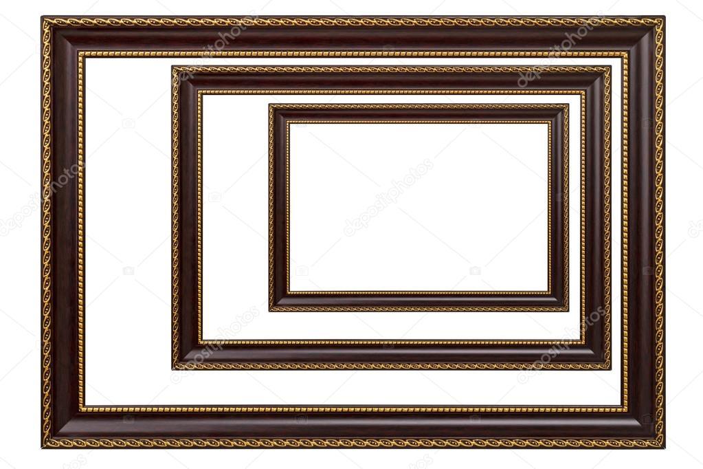 Tres marcos para cuadros — Fotos de Stock © ra3rn_ #114241922