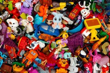 Heap of Kinder Surprise toys