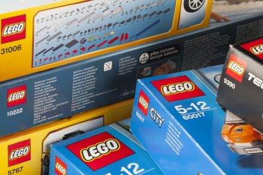 LEGO boxes