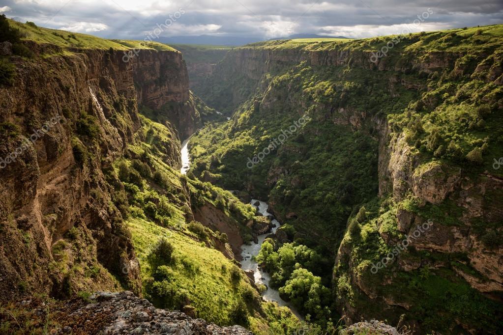 Canyon in Kazakhstan