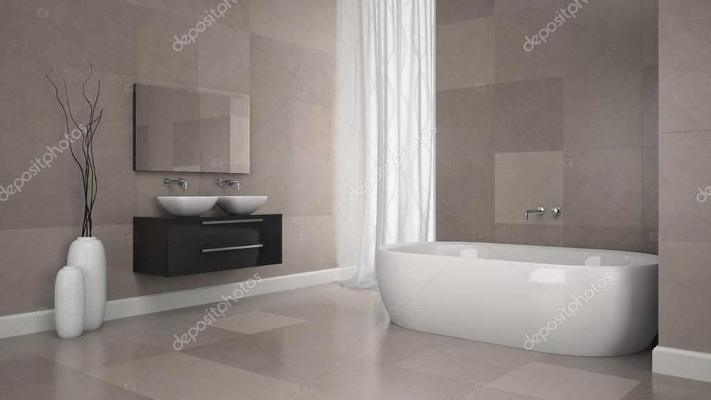 Natuursteen Wand Badkamer : Stenen muur badkamer. great steen mozaek tegel bruin bonbons