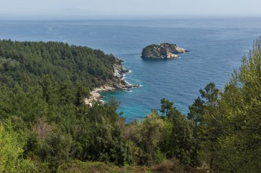 Amazing landscape to Gramvousa island in Thassos,  Greece