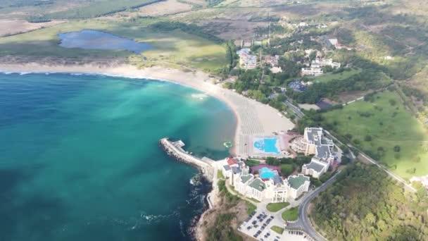 Aerial view of resort of Dyuni, Burgas Region, Bulgaria