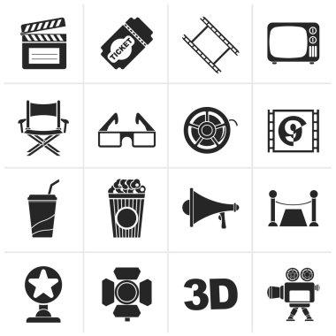 Black Cinema and Movie icons