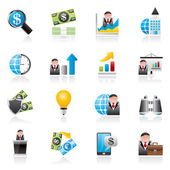 Business and Finance Strategies  Icons
