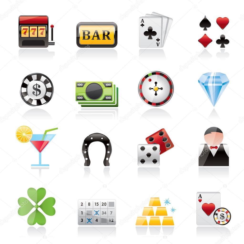 Gambling and Casino icons