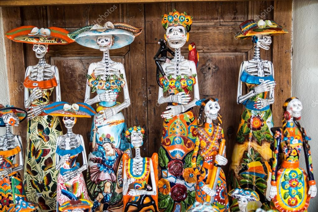 Day Of The Dead Folk Art Stock Photo