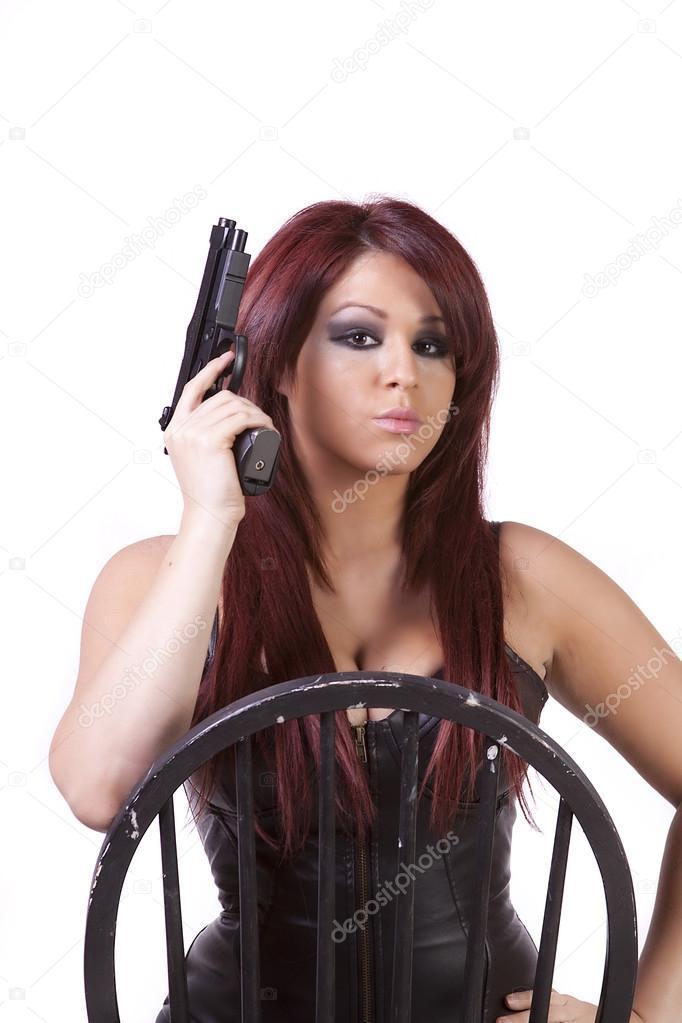 Sexy Chicks With Guns