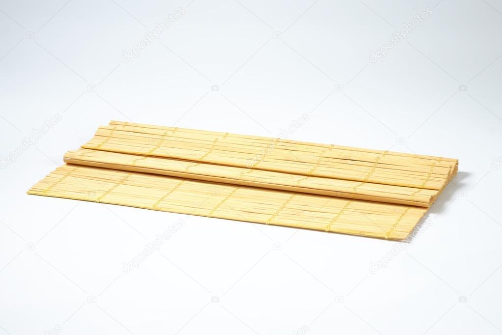 Tischset Bambus Stockfoto C Ajafoto 113557214