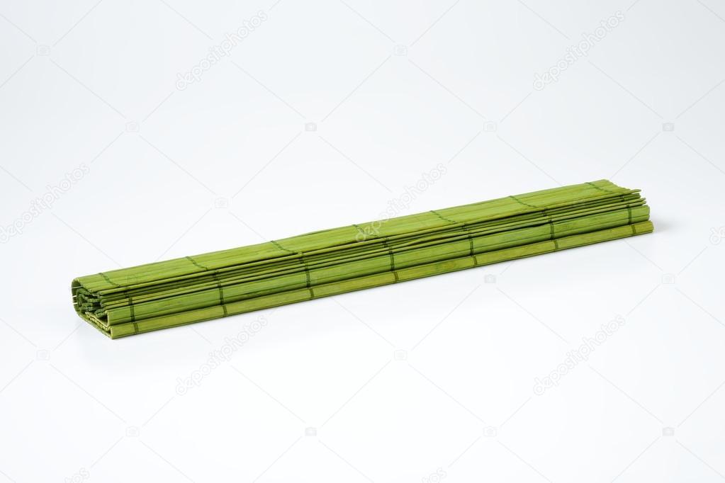 Gruner Bambus Tischset Stockfoto C Ajafoto 113557224