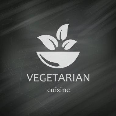 Vector Vegan Menu Design Template