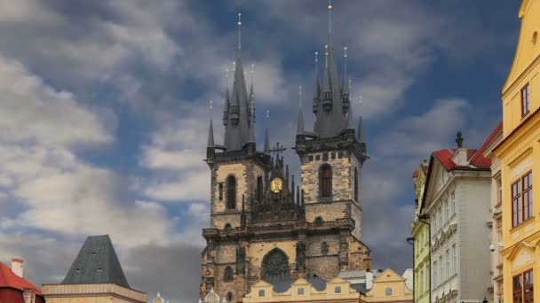 Gotický kostel Matky Boží před Týnem na Staroměstském náměstí v Praze