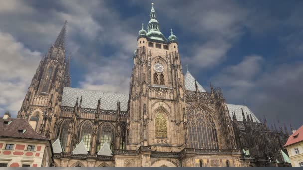 Katedrála svatého Víta (římskokatolická katedrála) v Pražský hrad, Česká republika