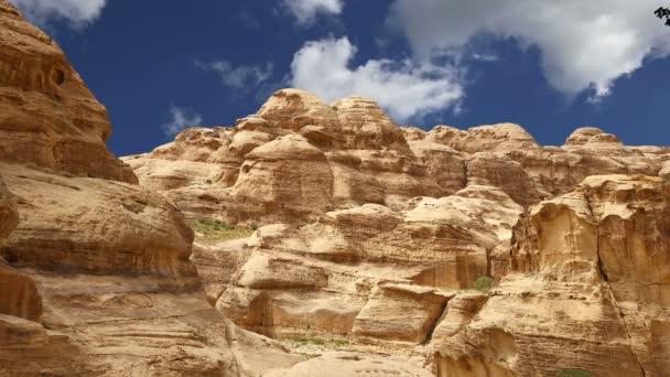 Mountains of Petra, Jordan, Middle East. Petra has been a UNESCO World Heritage Site
