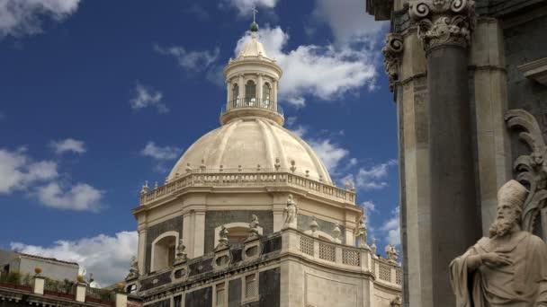 Chiesa cattolica di catania. Sicilia, Italia meridionale. architettura barocca. patrimonio mondiale dellUNESCO