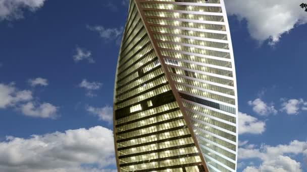 Mrakodrapy z mezinárodního obchodního centra (město), Moskva, Rusko